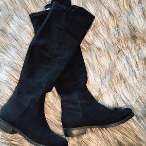 Unisa Black Over The Knee Boot